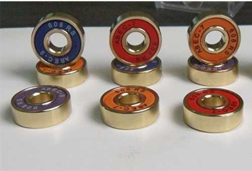 color skateboard bearings
